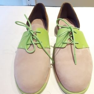 Camper semi-open lace up shoes
